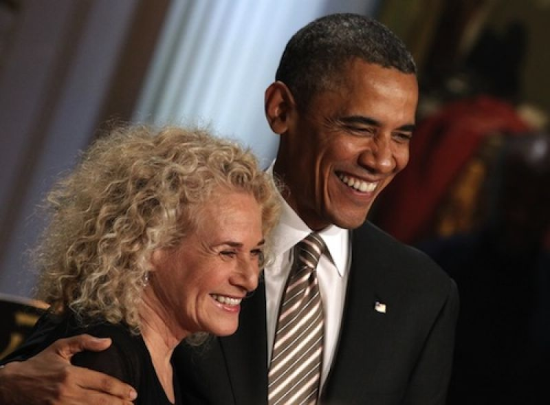 Carole King to be presented with Gershwin Prize Tuesday