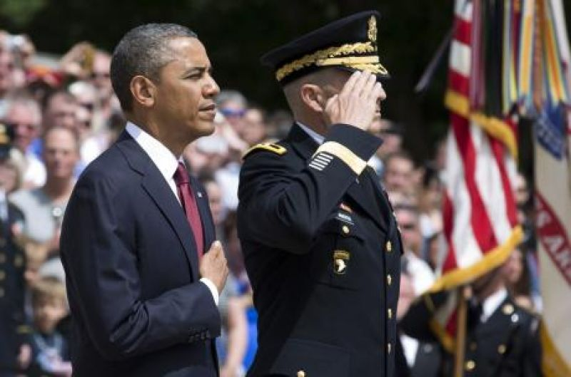 Obama to Americans Be worthy of armed forces sacrifices